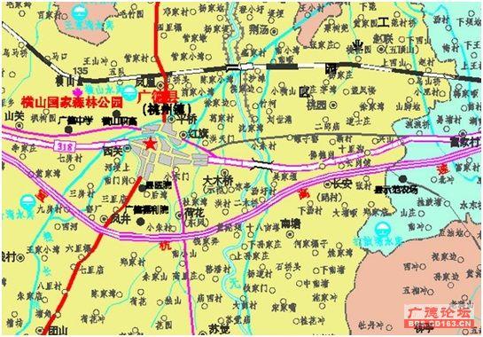 地图有点小气了,第一,新城区很多道路没有标准