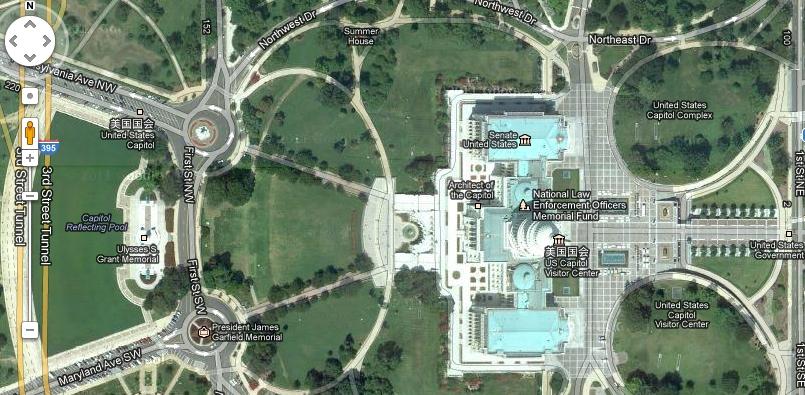 谷歌3d实景地图好强大,可以环游世界.