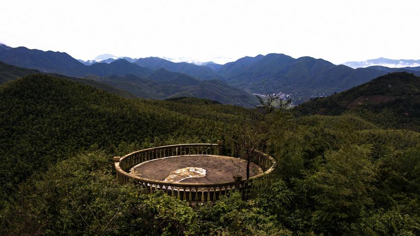 广德笄山的风景